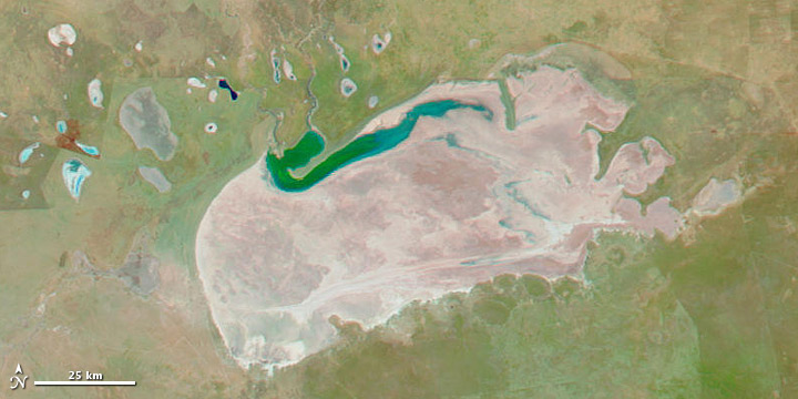 Flooding and Drought in Etosha Pan