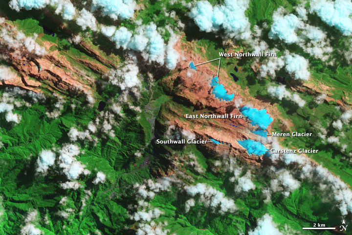 Ice Loss on Puncak Jaya