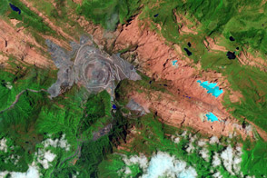 Ice Loss on Puncak Jaya - selected image