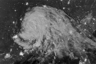 Moonlit Tropical Depression Isaac