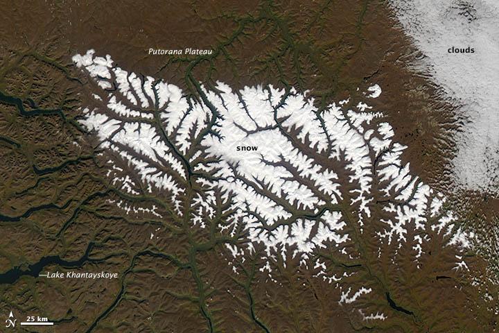 Fall Snow in Siberia; Spring Snow in Tasmania