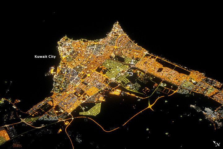 Kuwait City at Night - related image preview
