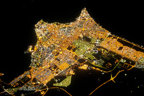 Kuwait City at Night - selected image