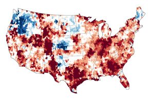 Signs of the U.S. Drought Are Underground - selected image