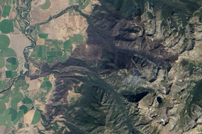 Pine Creek Fire Burn Scar