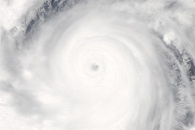 Super Typhoon Jelawat off the Philippines