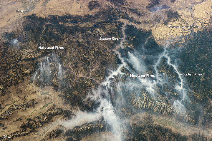 Idaho Fires, September 2012