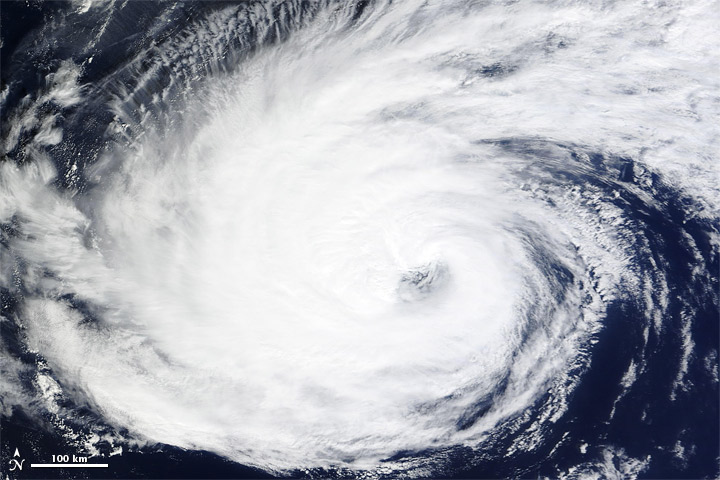 Nadine Persists over the Atlantic Ocean