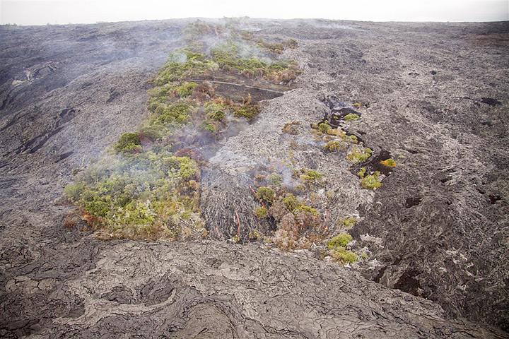 Fresh Lava on Kilauea, Hawaii