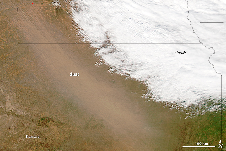 Dust Storm in the Great Plains - related image preview