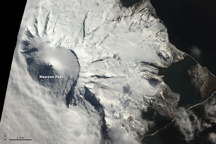 Signs of an Eruption on Heard Island