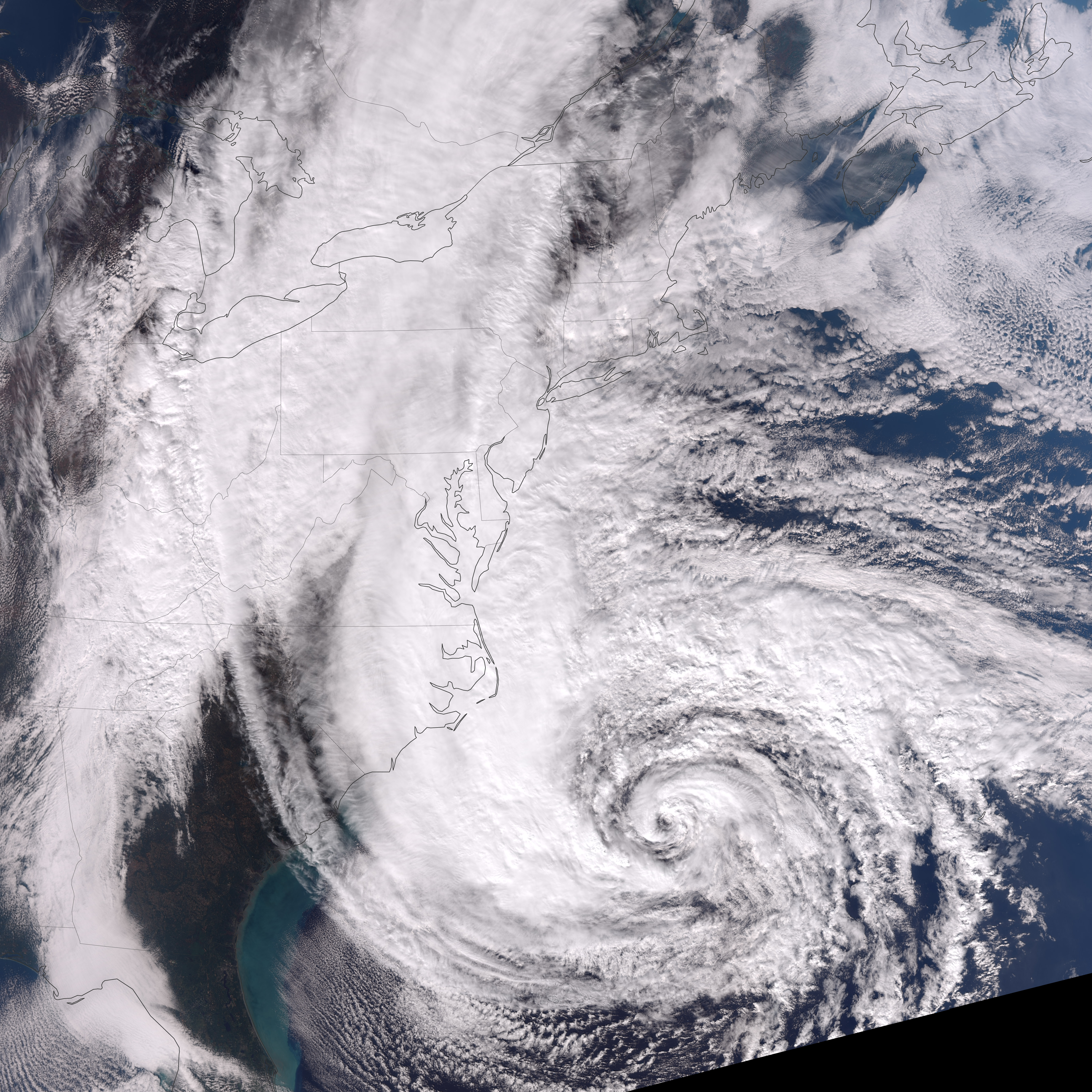 The Length of Hurricane Sandy - related image preview