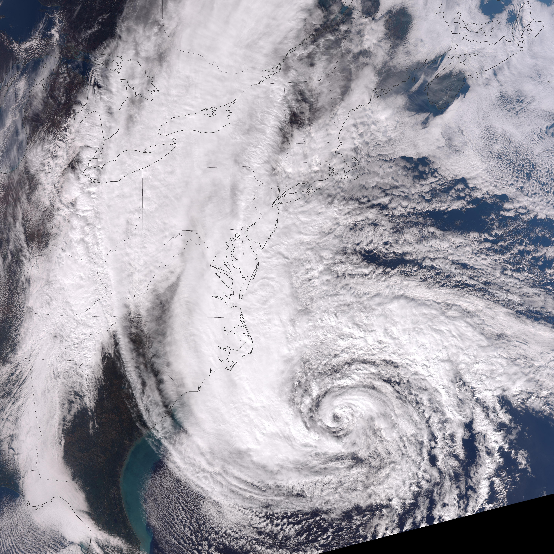 The Length Of Hurricane Sandy Natural Hazards