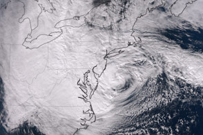 Hurricane Sandy - selected image