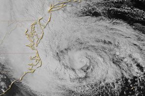 Overnight View of Hurricane Sandy - selected image