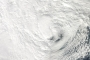 Hurricane Sandy Shortly Before Landfall