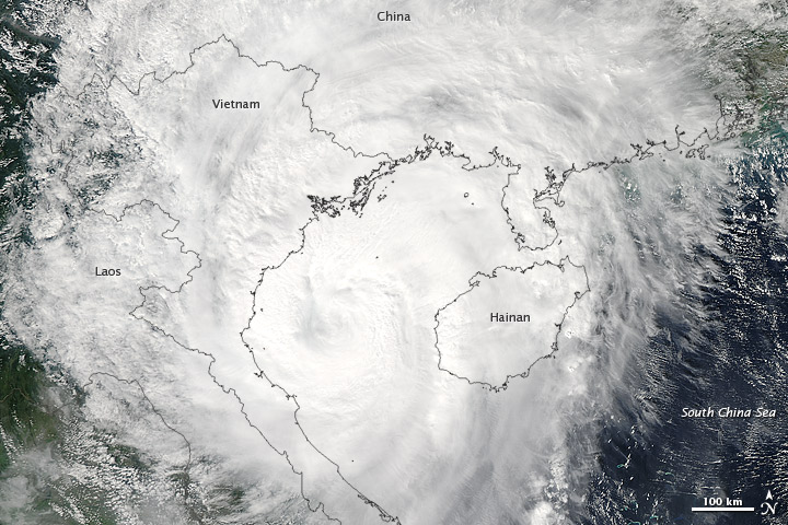 Typhoon Son-tinh