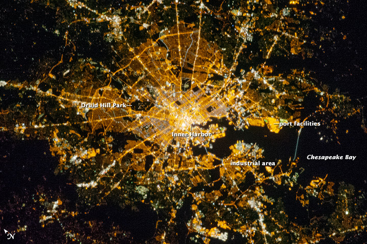 Baltimore at Night - related image preview