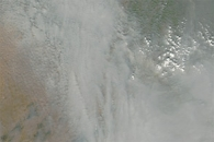 Fires and Smoke in Northwestern India