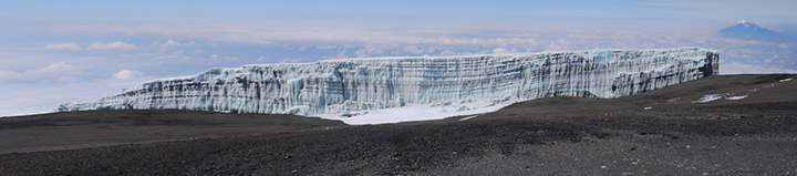 Kilimanjaro's Shrinking Ice Fields