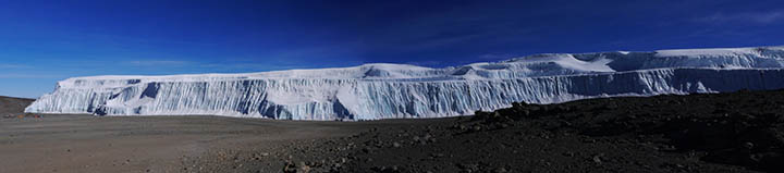 northern ice field
