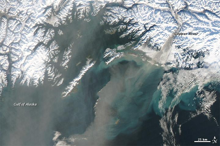 NASA Visible Earth: Dust over Southwestern Alaska