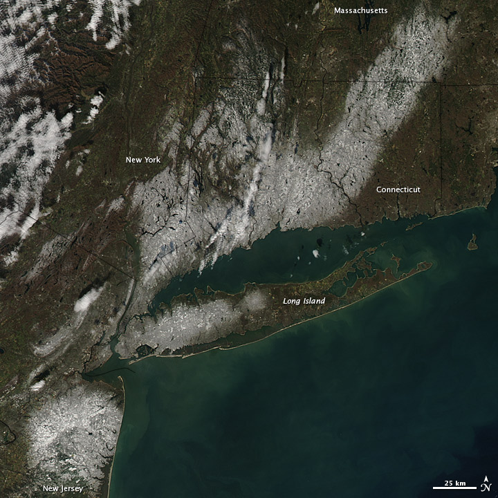 Snow in the Northeastern United States