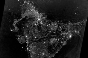 South Asian Night Lights