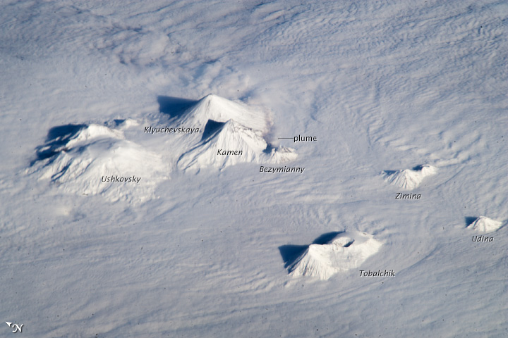 Central Kamchatka Volcanoes, Russian Federation