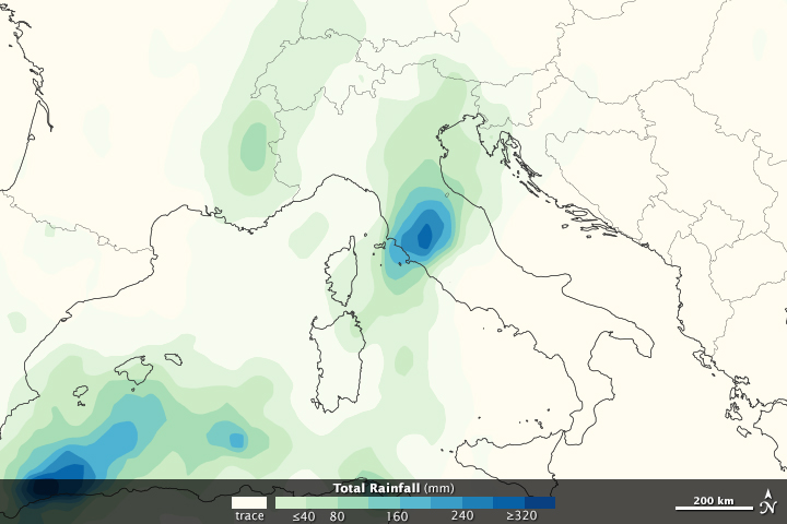 Heavy Rains in Northern Italy - related image preview