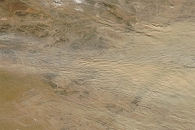 Dust Storm over the Gobi Desert