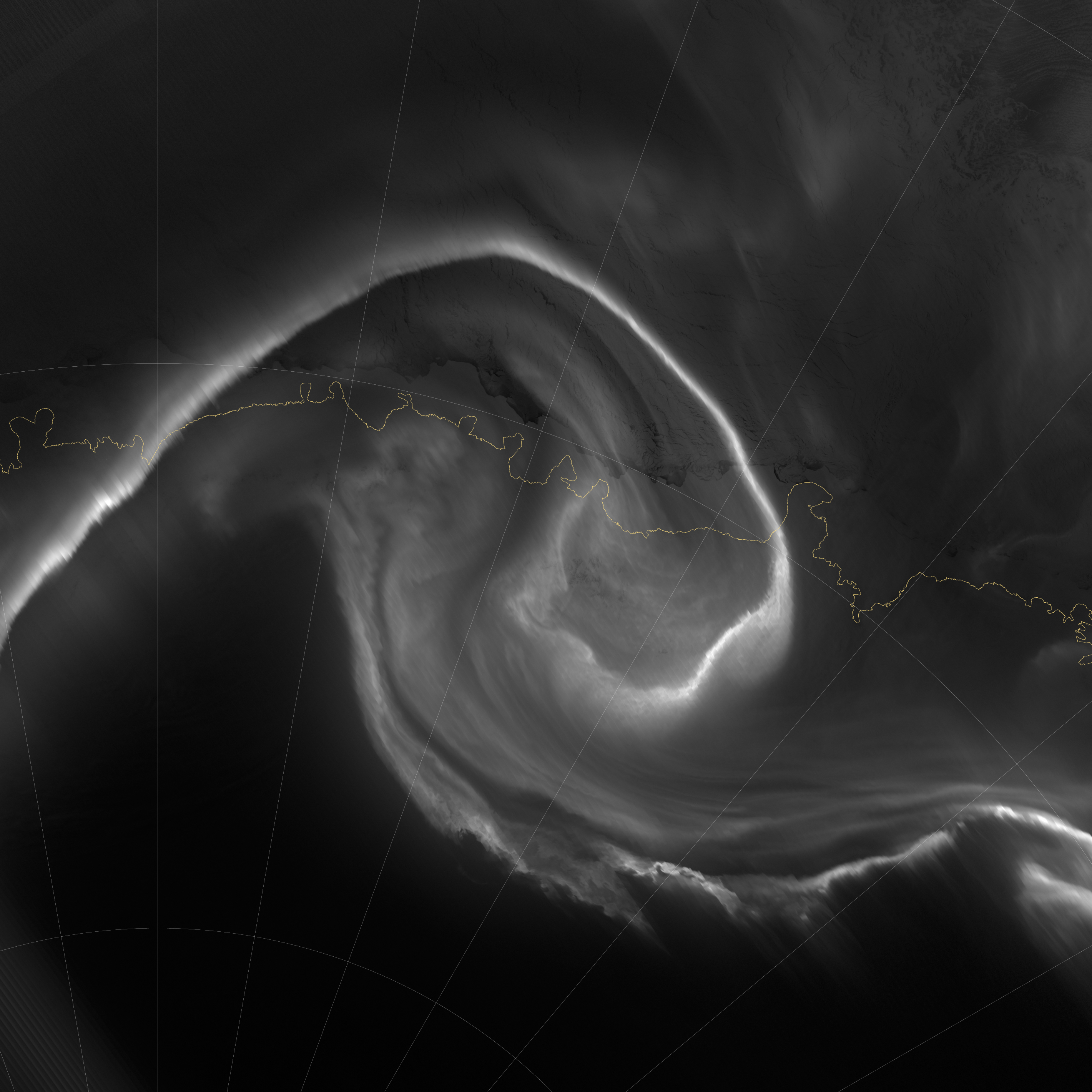 Auroras Light Up the Antarctic Night - related image preview