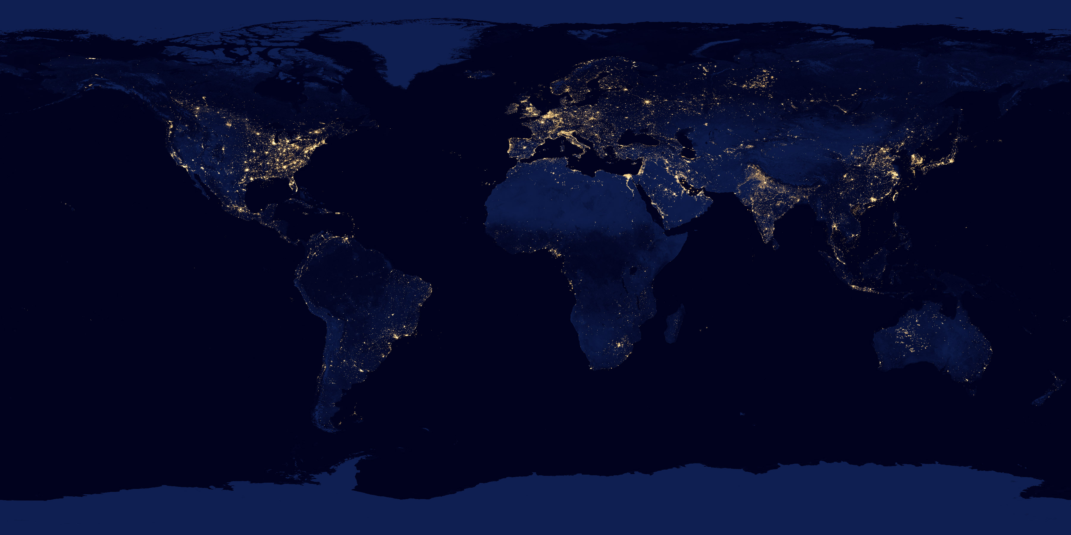 Night Lights 2012 Map - related image preview
