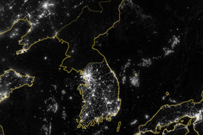 Korea and the Yellow Sea - selected image