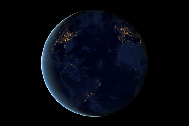 Night Lights 2012 The Black Marble Image Of The Day