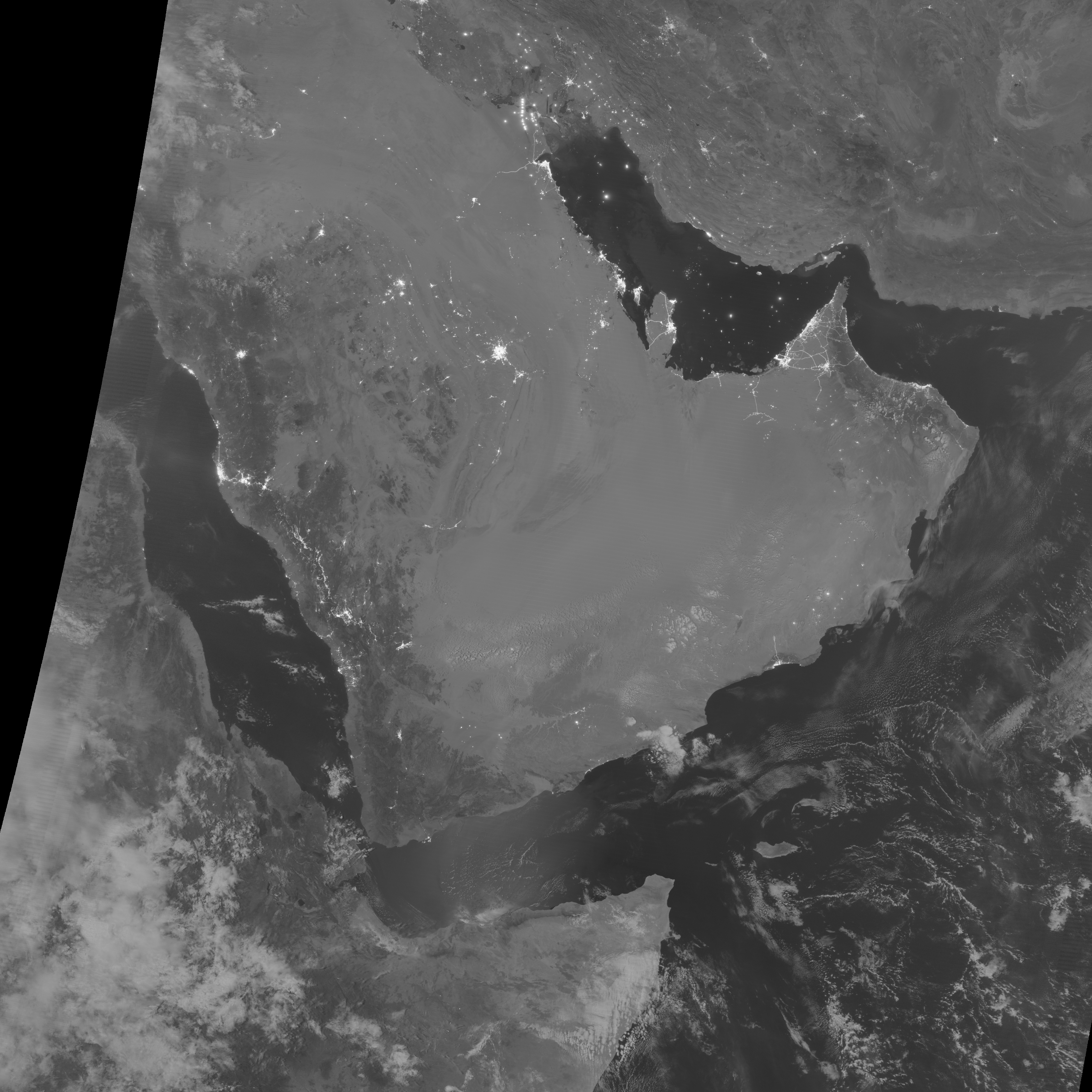 Moon Phases Over the Persian Gulf - related image preview