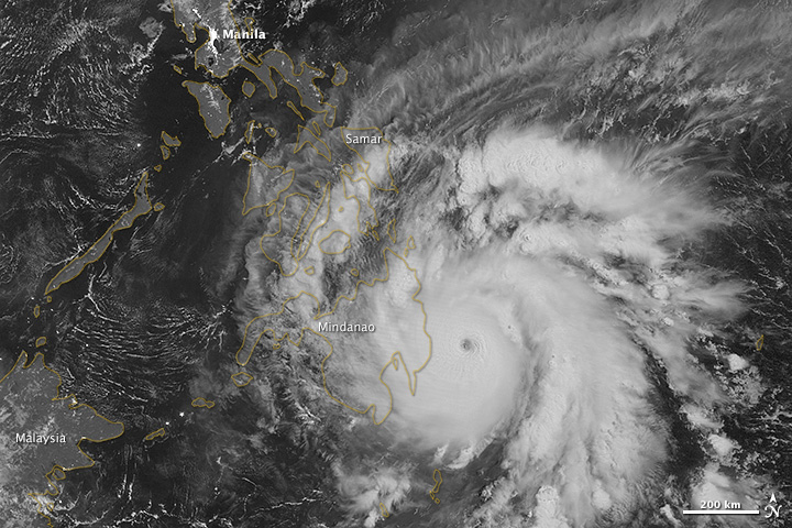 Bopha Makes Landfall