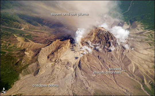 Shiveluch Volcano, Russia's Far East