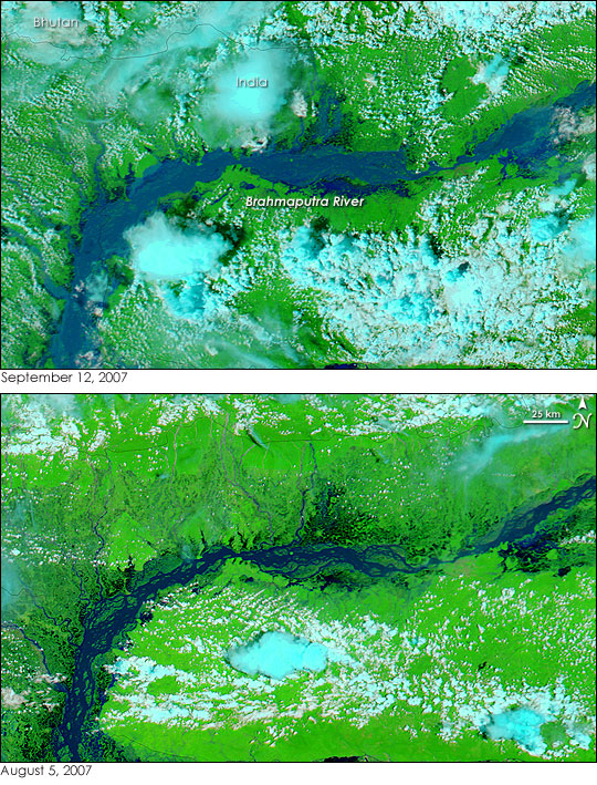 Floods in Northeast India