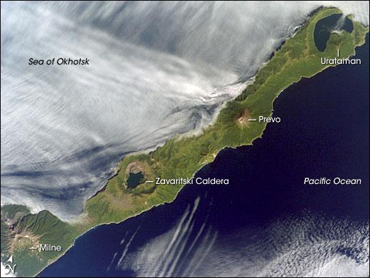 Simushir Island, Kuril Archipelago