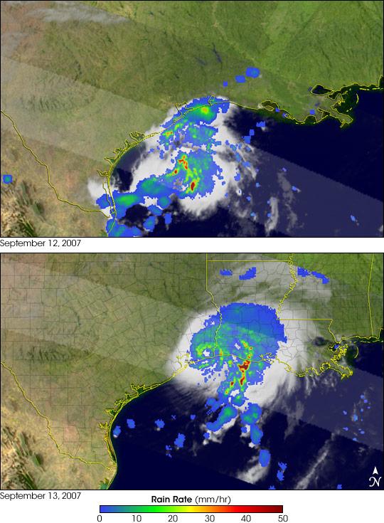 Hurricane Humberto's Rapid Development