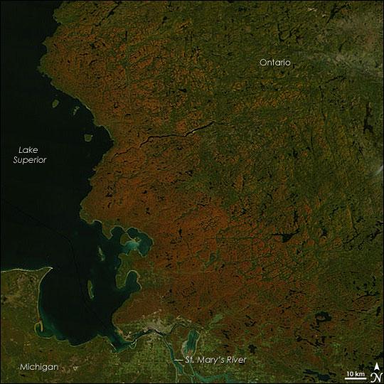 Fall Color Around Lake Superior