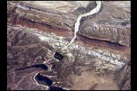Oblique View of Dinosaur National Monument