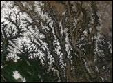 Hengduan Mountains, China