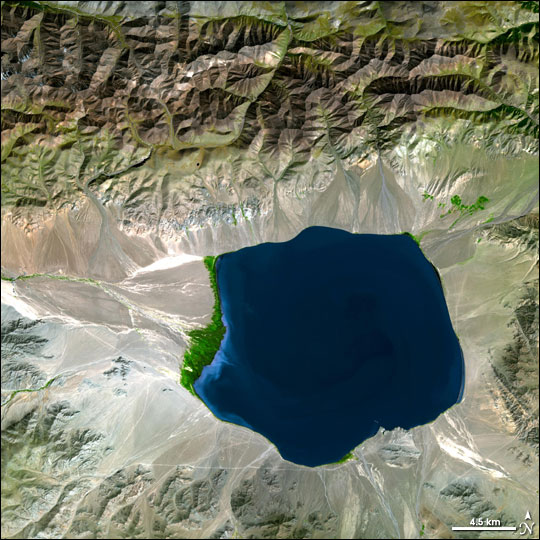 Uvs Nuur Basin in Mongolia