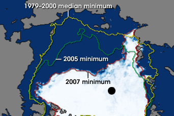 Record Sea Ice Minimum - related image preview