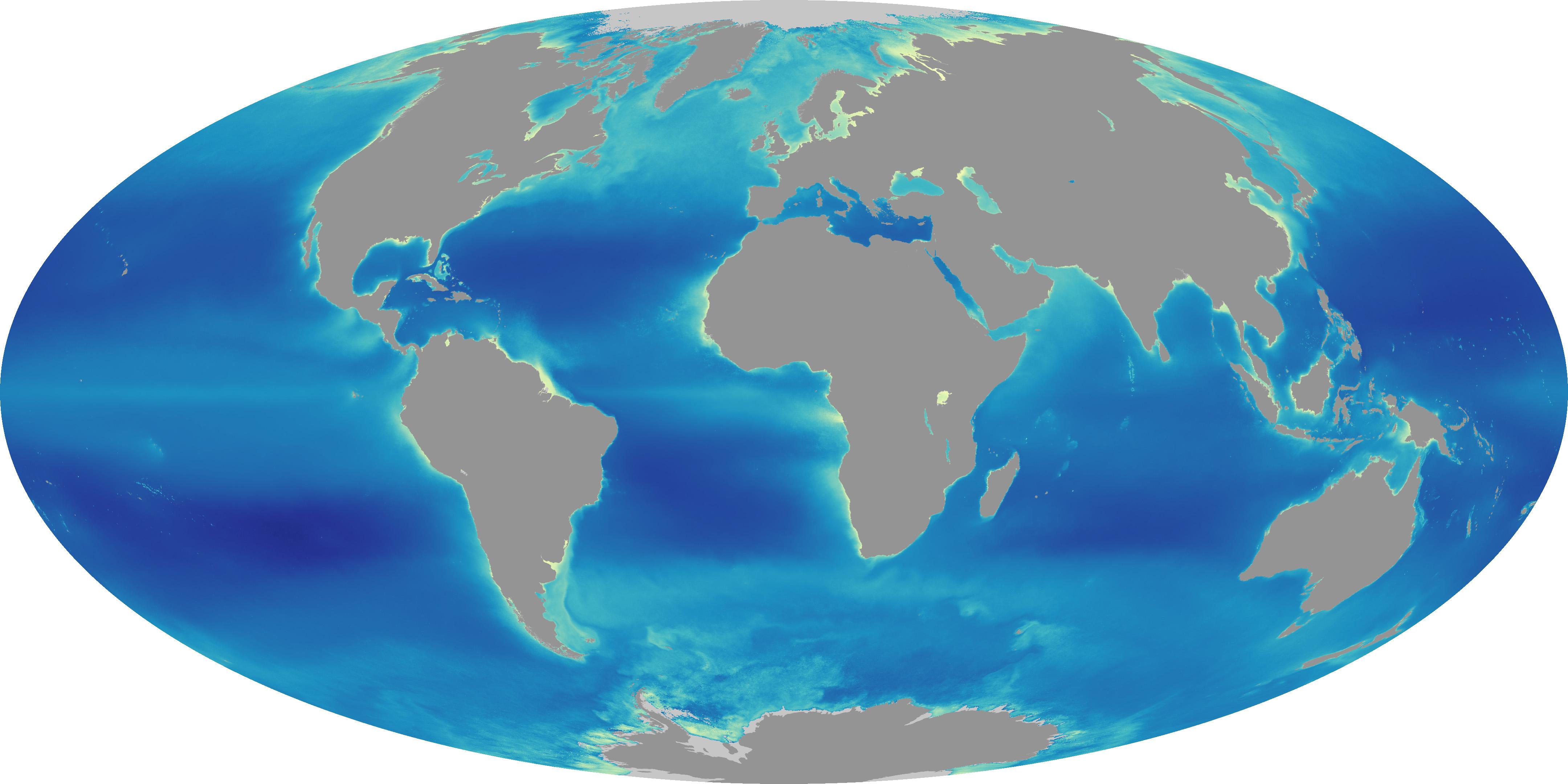 A Decade Of Ocean Color