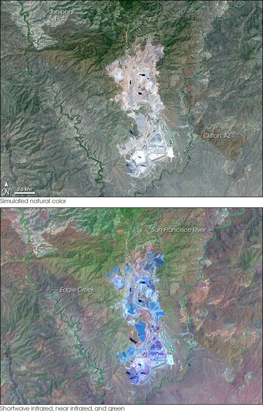 Morenci Mine, Arizona