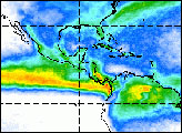 Seasonal Swings in Tropical Rainfall