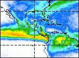 Seasonal Swings in Tropical Rainfall